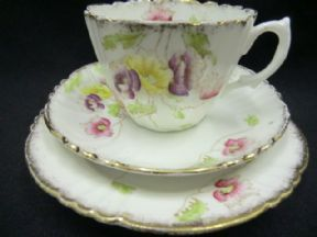 Lovely Royal Albert Edwardian floral tea trio
